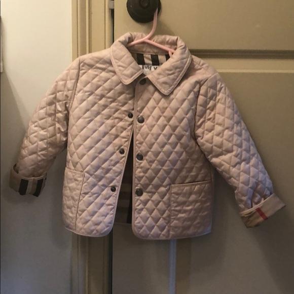 9500b3813 Burberry Jackets & Coats | Pink Jacket | Poshmark